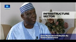 Jerry Gana Asks FG To Decentralise Infrastructure Management
