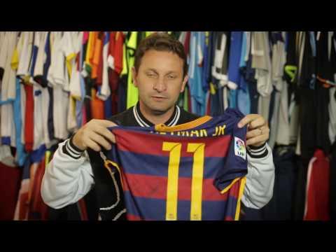 e0c61c3d5d34b LEILAO - Camisa Barcelona 15 16 Neymar autografada - Em prol Silvinho