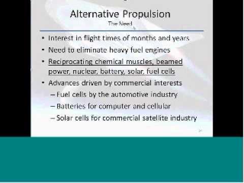 UAV Alternative Propulsion (Fuel & Solar Cells) Sample