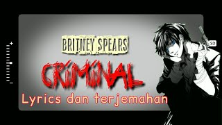 Criminal - britney spears (lyrics video ...