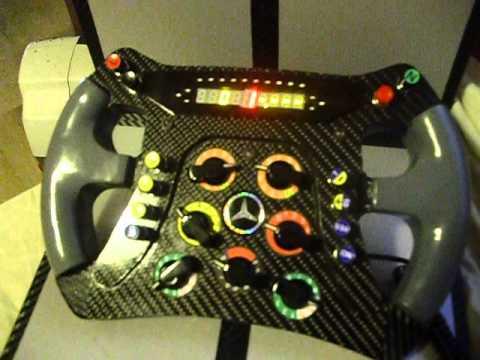 steering wheel volante f1 mercedes replica pc thrustmaster. Black Bedroom Furniture Sets. Home Design Ideas