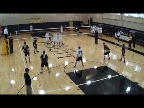 McQuaid Jesuit Volleyball vs Canisius