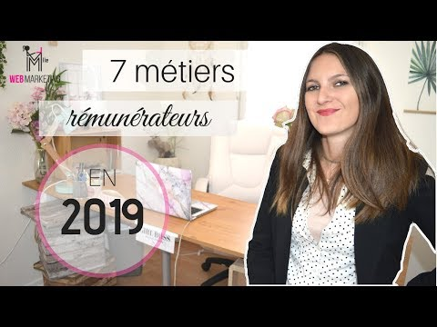 Les 7 Emplois Les Plus  Rémunérateurs En Ligne En 2019