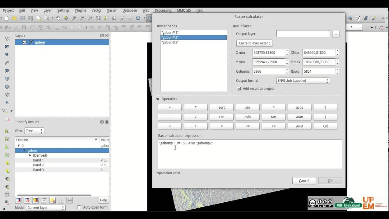Tutorial - Qgis Build No Data Mask