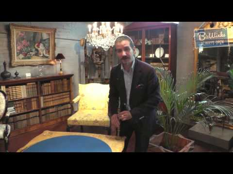 James Bly of John Bly Antiques, London