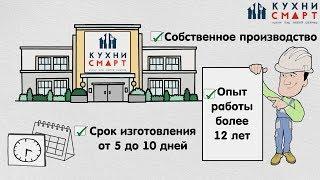 Кухни на заказ в Москве и МО