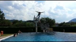 3 meter Sprungturm tricks