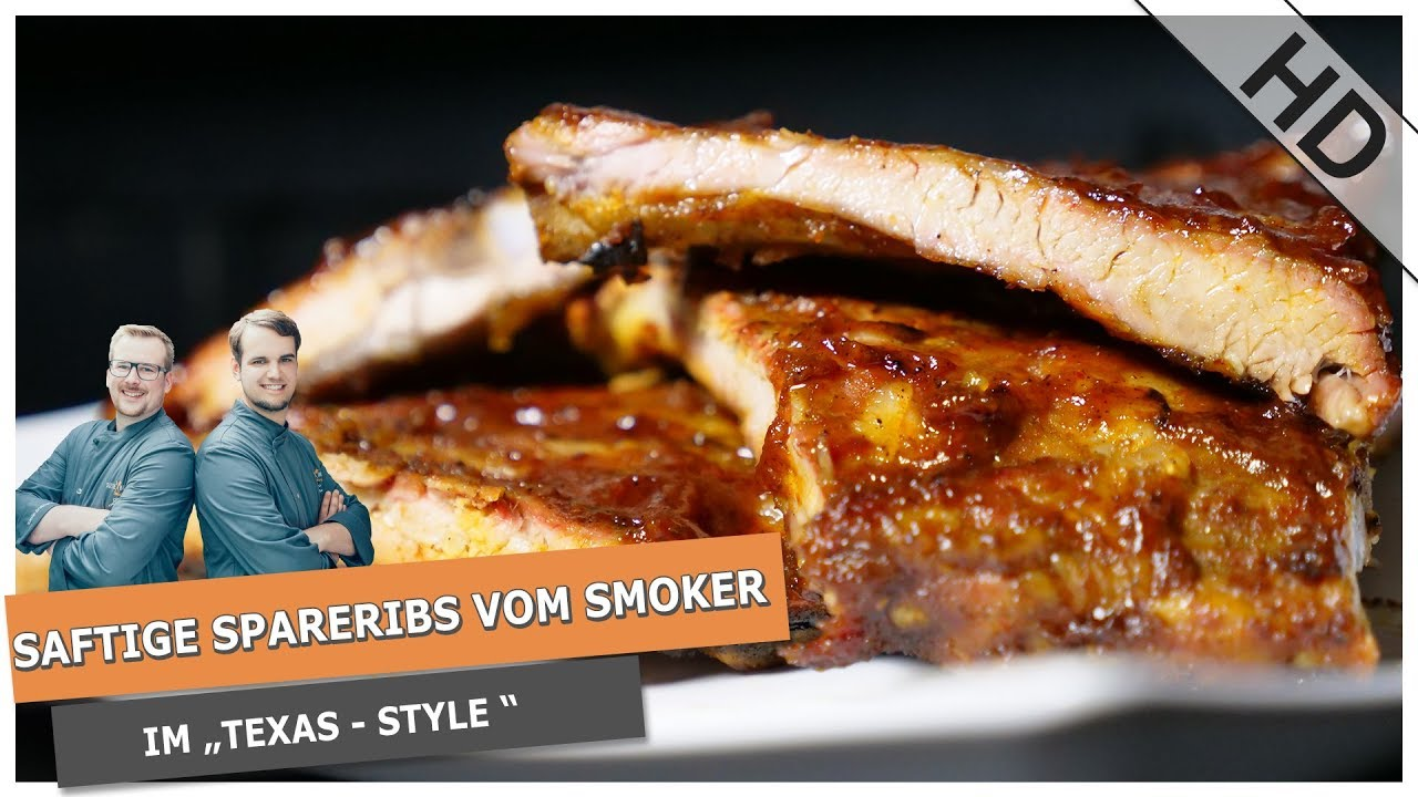 Rinder Spareribs Gasgrill : Spareribs texas style saftige ribs in 3 stunden !! youtube