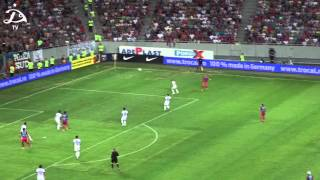 FC Steaua Bucureşti 1:1 FC Dinamo Tbilisi [Highlights]