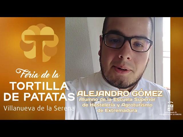 Degustación de elaboraciones de Tortilla de Patatas #FeriaDeLaTortilla