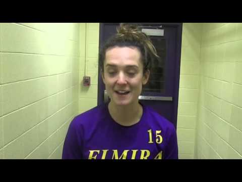 Elmira College Women's Ice Hockey Post-Game Interview with the Class of 2016