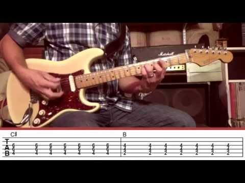 Day Tripper Guitar Lesson with TAB (The Beatles) Rock Like The Pros