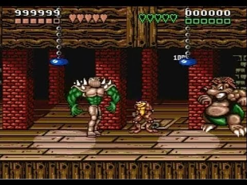 "Battletoads & Double Dragon [GEN/SMD] Hardcore ""Hack L7"" by Ti_  in 33:59"