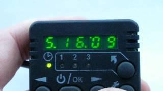 Настройка времени на ПУ-20, Binar-5S