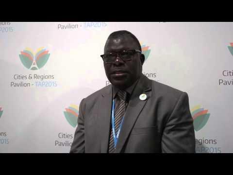 Antoine Faye, Chief Resilience Officer for the City of Dakar, Senegal