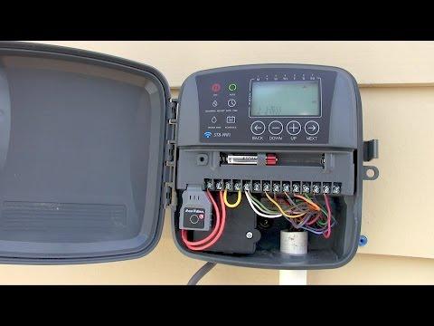Easy! RAIN BIRD ST8o Smart WiFi Timer - Sprinkler Controller Installation & Wiring