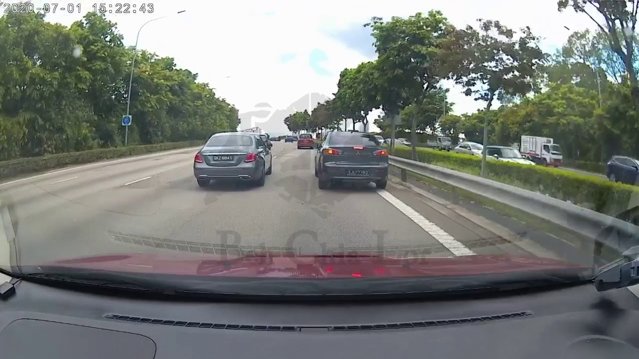 Near accident on CTE - YouTube