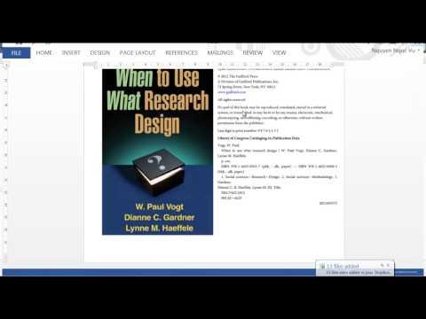 Applied Linguistics Research - Quantitative Design - Session 2
