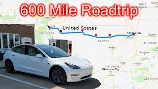 Standard Range Plus Model 3 Roadtrip - 240 mile range...
