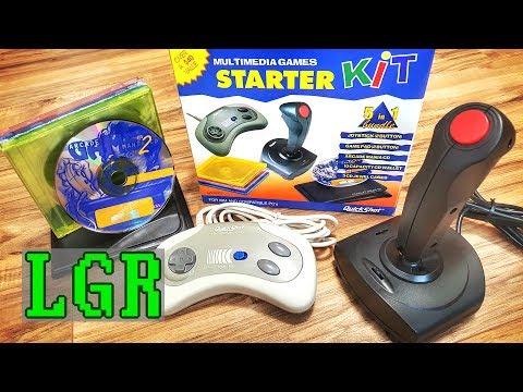 LGR - QuickShot's 1996 PC Game Starter Kit thumbnail