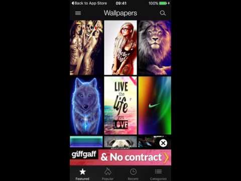 free wallpapers, ringtones app for iphones and android.