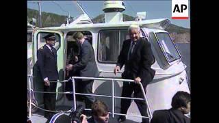 Boris Yeltsin dancing