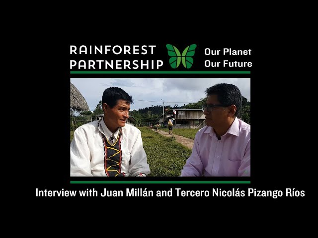 Our Planet. Our Future. Interview with Juan Millán and Tercero Nicolás Pizango Ríos