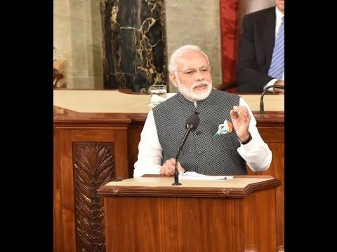PM Narendra Modi Addresses U.S.Congress Full Speech