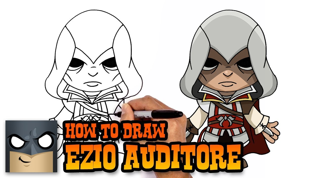 How To Draw Assassin S Creed Ezio Auditore Youtube