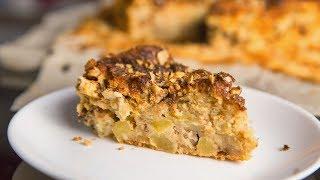 Вкусный яблочный пирог со сметаной | Сметанник | Рецепт пирога на сметане