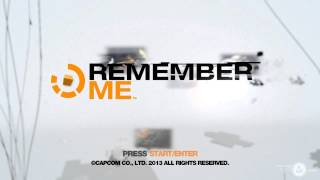 Remember Me Theme Song (splash screen)