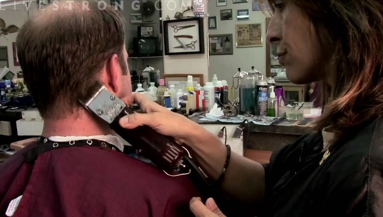 How To Use Clippers To Cut Mens Hair Youtube