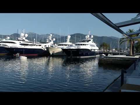 Porto Montenegro Harbor