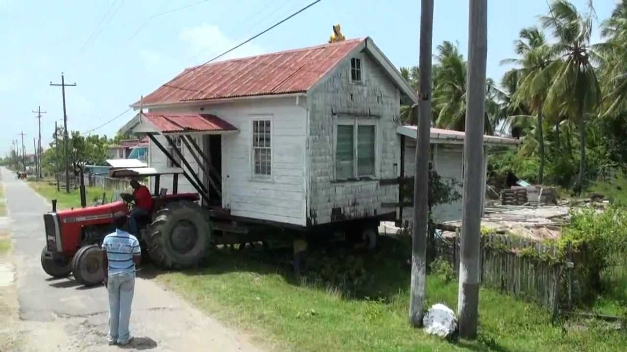 Berbice house movers guyana house movers bartica youtube for Moving home pictures