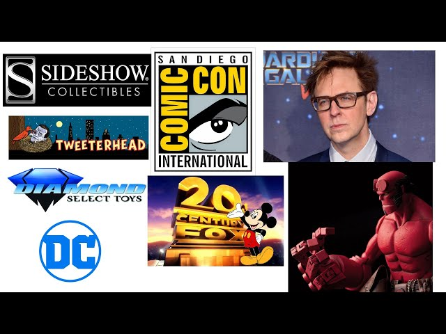 Life update, SDCC 2018, DC Universe, MCU, James Gunn, Disney & Fox!!!