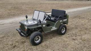 Mini Meep jeep Gas Golf Cart For Sale From Saferwholesale.com