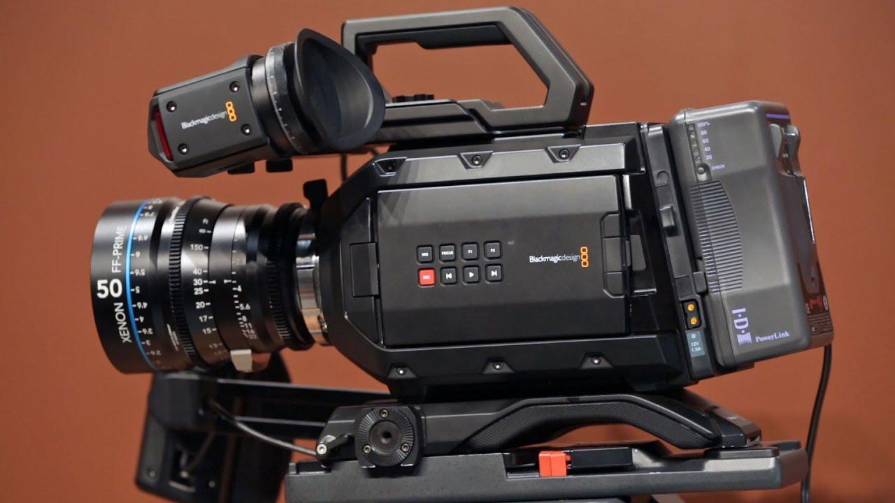 Nab 2015 Blackmagic Design Ursa Mini 4 6k 4k Cinema Cameras Youtube