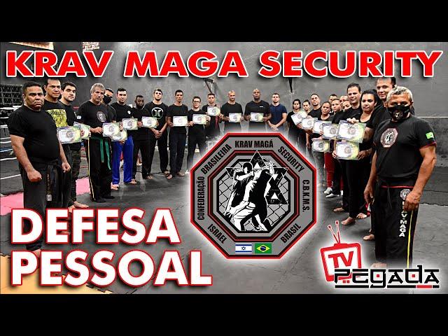 Defesa Pessoal - Krav Maga Security - TV Pegada #209