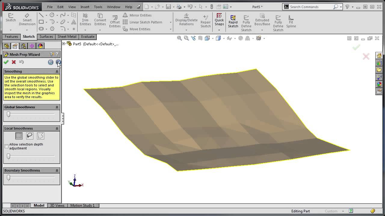 SOLIDWORKS tech tip: Importing Point Cloud data into SOLIDWORKS