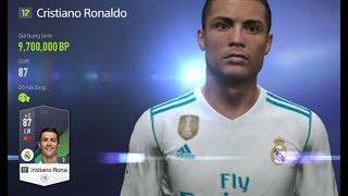 Fo4 VN: Mở Gói 75+ Được Ronaldo ss17