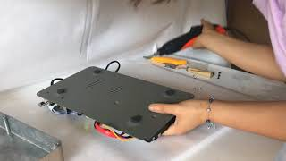 ACEUME TSR89 How to uninstall karaoke player and install hard drive