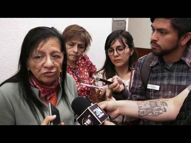 Entrevista Presidenta de #CDHCM tras presentación