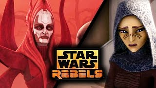 Star Wars Rebels Season 2: Seventh Sister Trailer Breakdown; Barriss Offee & The Nighsisters