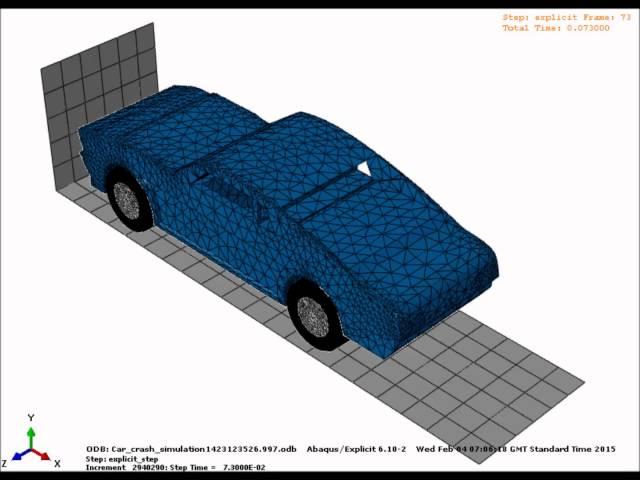 H. al-budairi car crash simulation at 60mph - YouTubeVideos.io