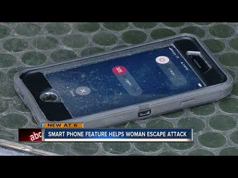 Woman uses smart phone trick to call police during sexual attack