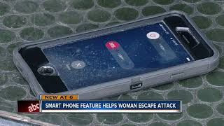 Woman uses smart phone trick to call police during sexual atta…