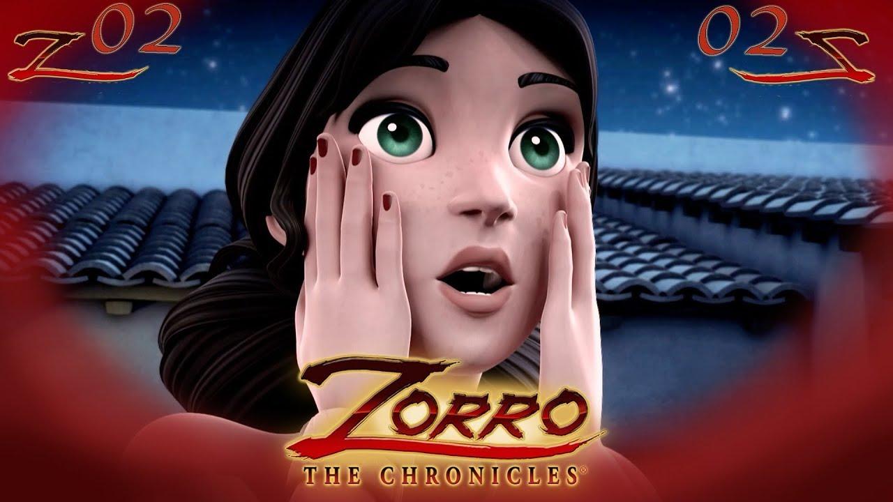 Las Crónicas del Zorro | LA MINA |  Capítulo 02 | Dibujos de super héroes