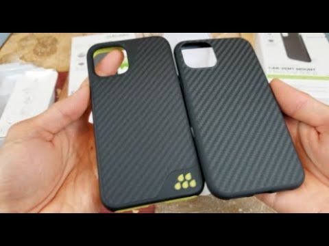 ASMR Unboxing Carbon Fiber Apple IPhone 11 Pro Max AER Sports Strongest Case!