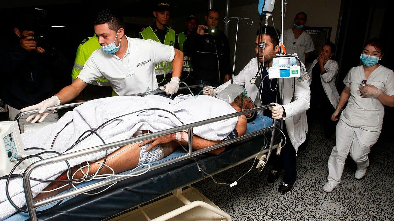 La policía colombiana confirma 76 muertos y 5 supervivientes