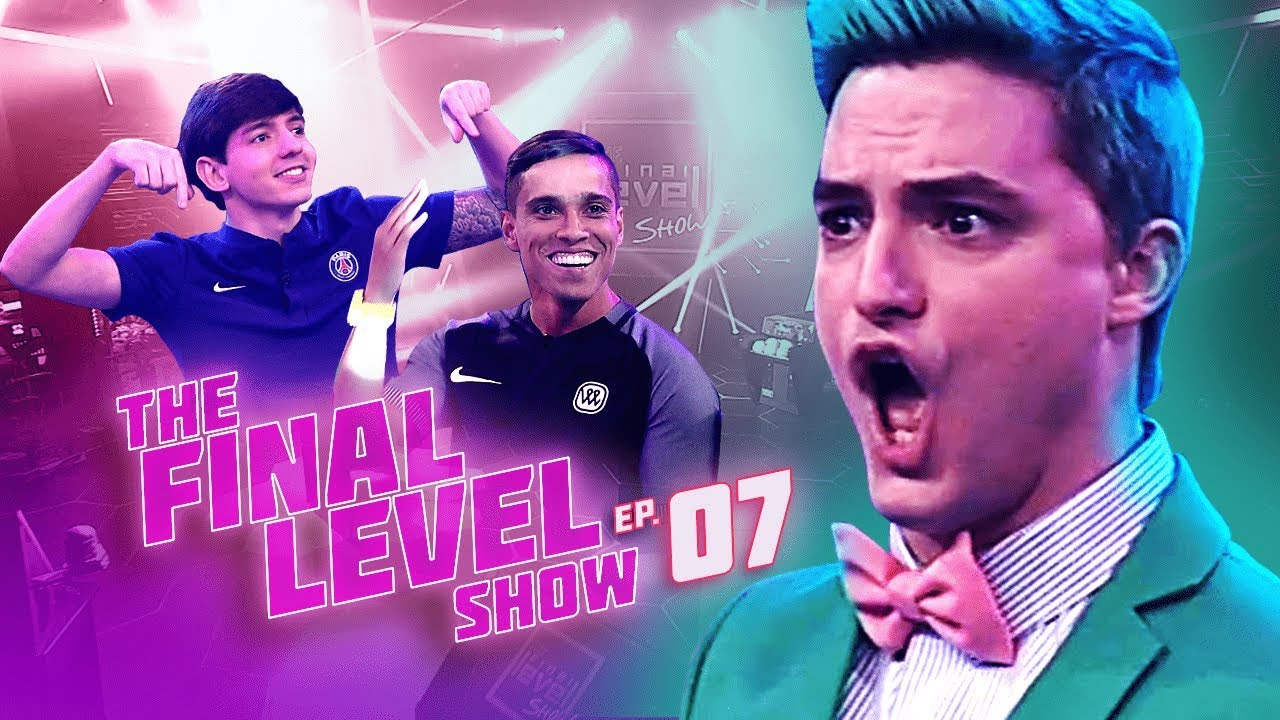 FELIPE NETO - THE FINAL LEVEL SHOW EP.7 - WENDELL LIRA X RAFIFA
